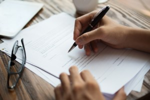 a picture that shows how the divorce mediation process concludes in Rockland County, NY