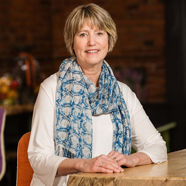 Female divorce mediator Patricia Cooley